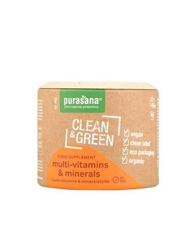 Purasana Multi vitamins & Minerals BIO 60 tab.