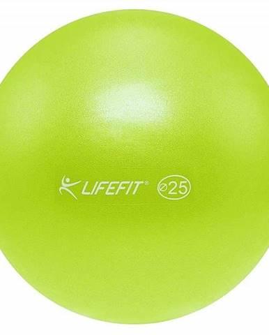 Míč OVERBALL LIFEFIT 25cm, světle zelený