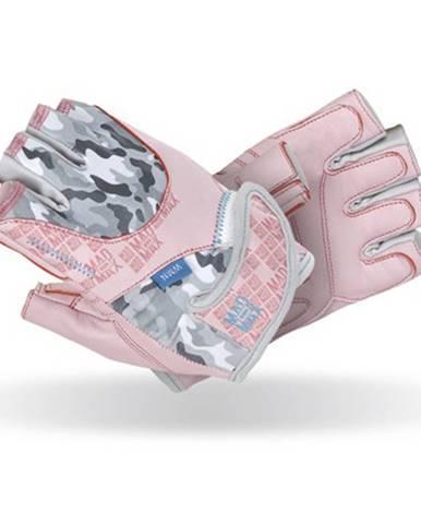 Dámske fitness rukavice  Mad Max No Matter ružová - L