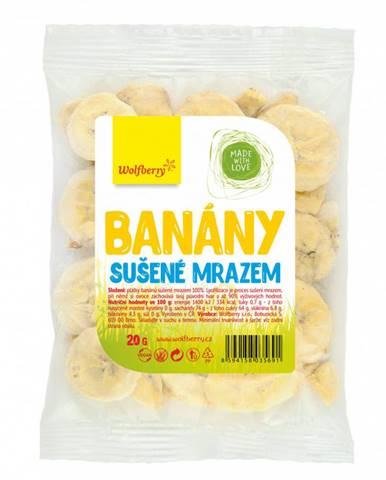 Wolfberry banány sušené mrazom 20 g