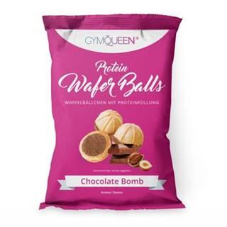GYMQUEEN Protein Wafer Balls 75 g vanilla bomb