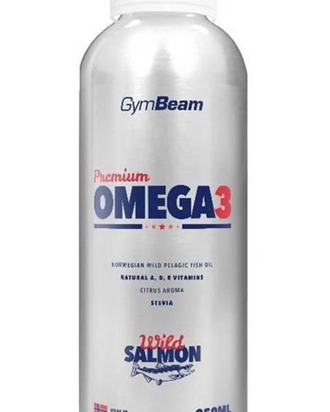 GymBeam Premium Omega 3 - GymBeam 250 ml. Citrus
