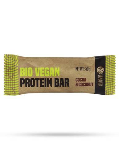 VanaVita BIO Vegan Protein Bar 50 g kakao a kokos