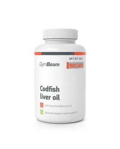 GymBeam Codfish liver oil 90 kaps.