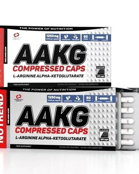Nutrend AAKG Compressed Caps - Nutrend 120 kaps.
