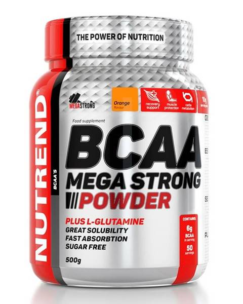 Nutrend BCAA Mega Strong Powder - Nutrend 20 x 10 g Cherry