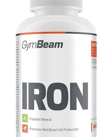Iron - GymBeam 120 kaps.