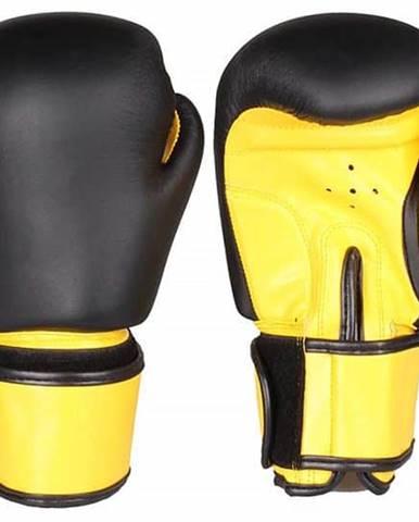 Fighter zápasové boxovací rukavice barva: černá-žlutá;hmotnost: 6 oz