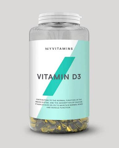 MyProtein Vitamín D3 Hmotnost: 180 kapslí