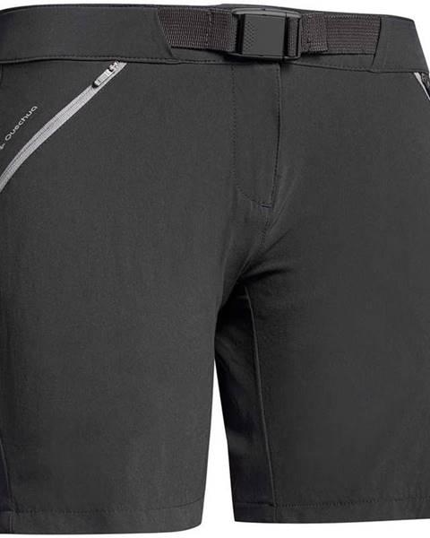 QUECHUA QUECHUA Dámske šortky Mh500 čierne