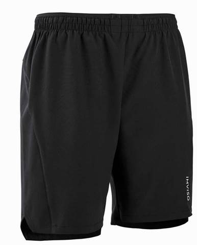 IMVISO Futsalové šortky čierne