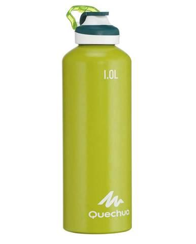 QUECHUA Hliníková Fľaša 500 1 L Zelená