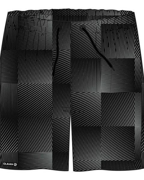 OLAIAN OLAIAN šortky 100 Square čierne