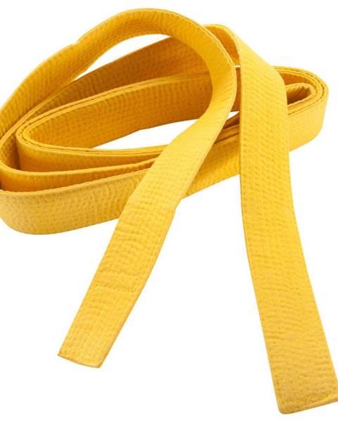 OUTSHOCK OUTSHOCK Prešívaný Opasok 2,8 M žltý