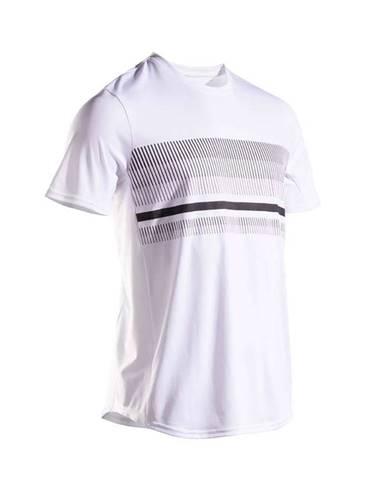 ARTENGO Tenisové Tričko Tts100 Biele