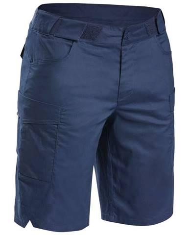 QUECHUA šortky Nh500 Fresh Tmavomodré