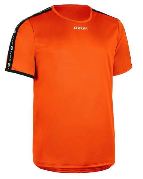 ATORKA ATORKA Pánske Tričko H100c Oranžové