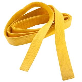 OUTSHOCK Prešívaný Opasok 2,5 M žltý