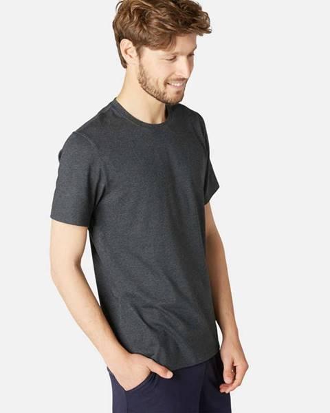 NYAMBA NYAMBA Pánske Tričko 500 Na Cvičenie