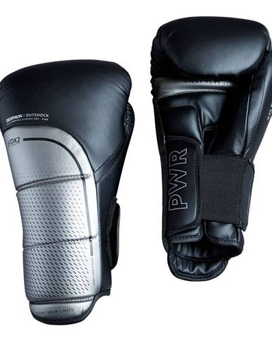 OUTSHOCK Rukavice Na Kickbox 500 čierne