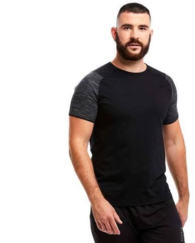 KIPSTA Tímové Tričko T100 čierne