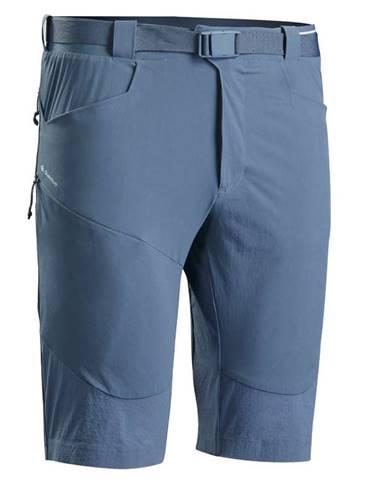 QUECHUA Dlhé šortky Mh500 Modrosivé
