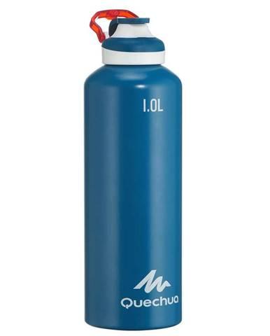 QUECHUA Hliníková Fľaša 500 1 L Modrá