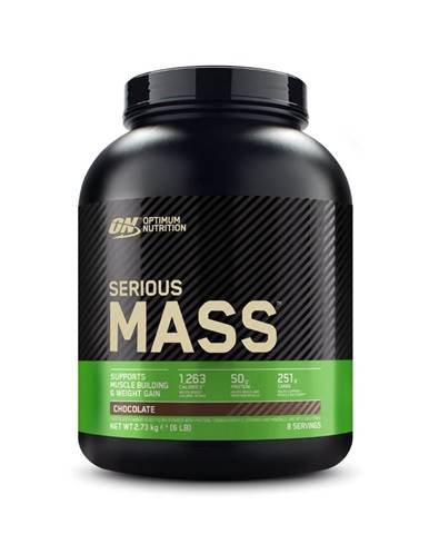 Optimum Nutrition Serious Mass 5450 g vanilka