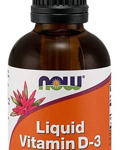 NOW Foods Now Foods Vitamín D3 60 ml