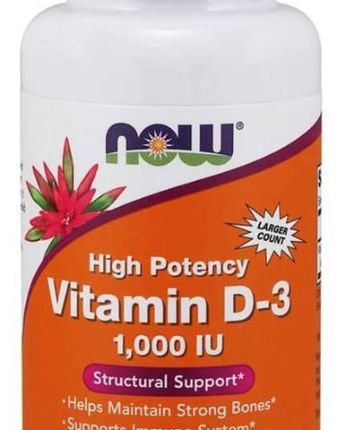 Now Foods Vitamín D3 1000 IU 360 kapsúl