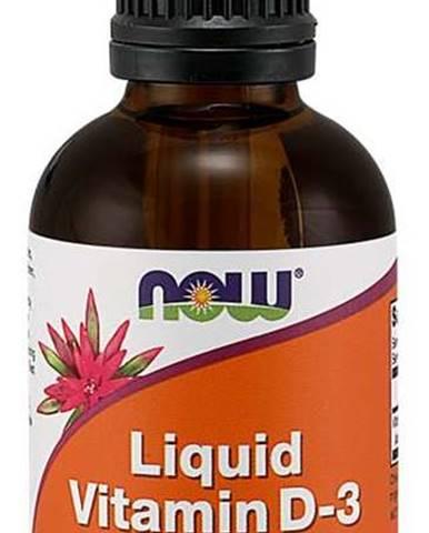 Now Foods Vitamín D3 60 ml
