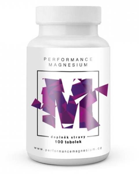 BrainMax Brainmax Performance Magnesium 1000 mg (Horčík + Vitamín B6) 100 tabliet