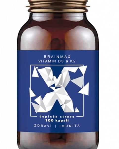 BrainMax BrainMax Vitamin D3 & K2 100 kapsúl