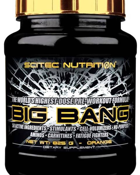 Scitec Nutrition Scitec Nutrition Scitec Big Bang 825 g variant: mango