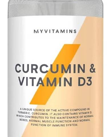 MyProtein Curcumin&Vitamín D 60 kapsúl