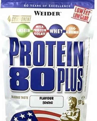 Weider Protein 80 Plus 500 g variant: banán