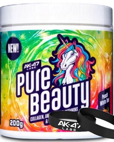 AK47 Labs Pure Beauty 200 g variant: broskyňový čaj