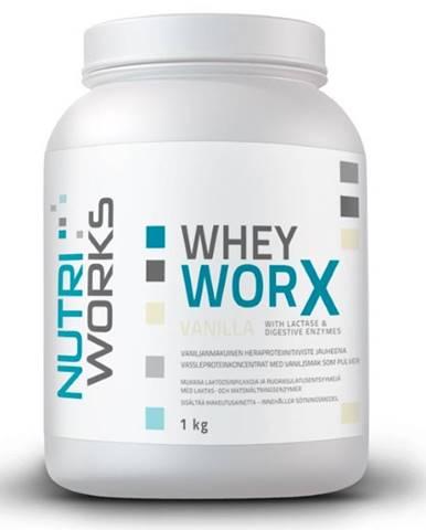 NutriWorks Whey Worx 1000 g variant: čokoláda