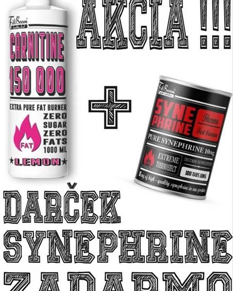 FitBoom Akcia: Carnitine 150 000 Tekutý + Synephrine Zadarmo - FitBoom 1000 ml. + 100 tbl. Lemon