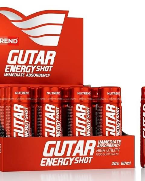 Nutrend Gutar Energy Shot - Nutrend 20 x 60 ml.
