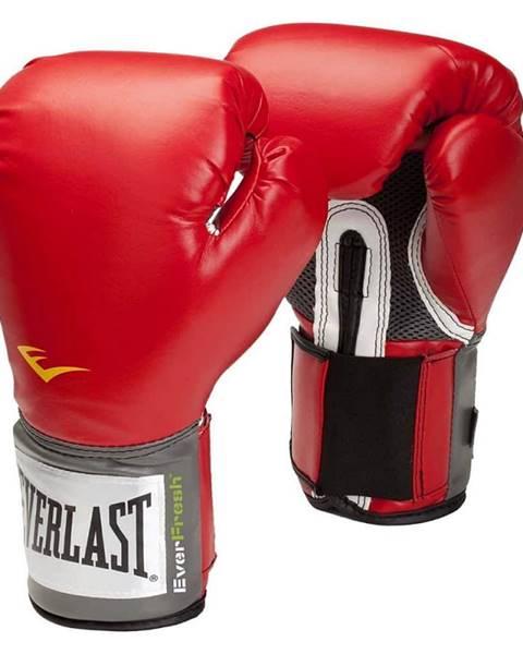 Everlast Boxerské rukavice Everlast Pro Style 2100 Training Gloves Farba červená, Veľkosť S (10oz)