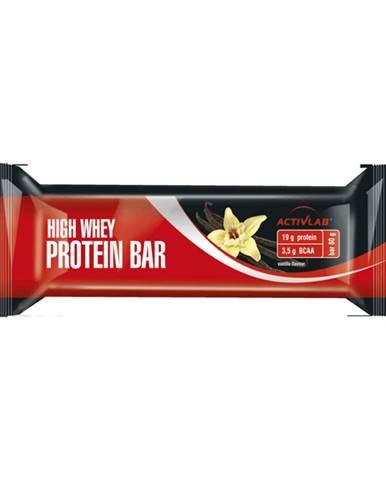 ActivLab High Whey Protein Bar 80 g čierne ríbezle