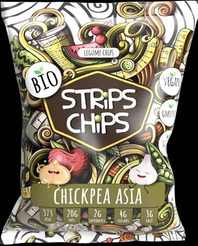 YESCHiPS STRiPS ChiPS 90 g ázijský cícer