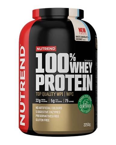 Nutrend 100% Whey Protein 2250 g biela čokoláda kokos