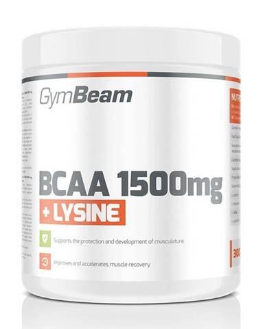 BCAA 1500 mg + Lysine od GymBeam 300 tbl.