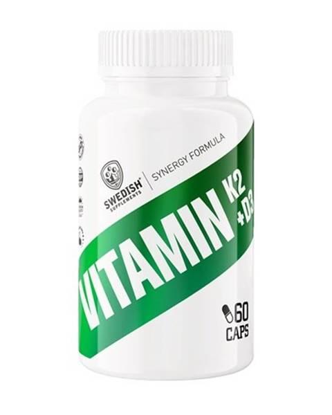 Swedish Supplements Vitamin K2 + D3 - Swedish Supplements 60 kaps.