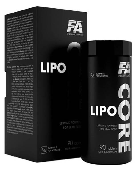 Fitness Authority Lipo Core - Fitness Authority 90 tbl.