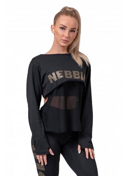 Nebbia Dámske tričko Nebbia Intense Mesh 805 Black - XS