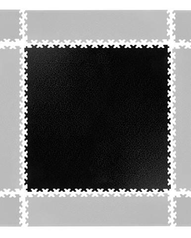 Puzzle záťažová podložka inSPORTline Simple čierna