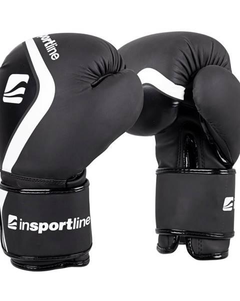 Insportline Boxerské rukavice inSPORTline Shormag čierna - 4 oz